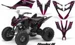 Yamaha Raptor 250 CreatorX Graphics Kit SpiderX Pink 150x90 - Yamaha Raptor 250 Graphics