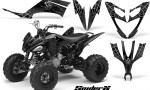 Yamaha Raptor 250 CreatorX Graphics Kit SpiderX Silver 150x90 - Yamaha Raptor 250 Graphics