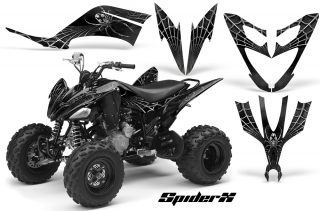 Yamaha Raptor 250 CreatorX Graphics Kit SpiderX Silver 320x211 - Yamaha Raptor 250 Graphics