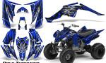 Yamaha Raptor 350 CreatorX Graphics Kit Bolt Thrower Blue 150x90 - Yamaha Raptor 350 Graphics