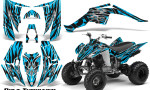 Yamaha Raptor 350 CreatorX Graphics Kit Bolt Thrower BlueIce 150x90 - Yamaha Raptor 350 Graphics
