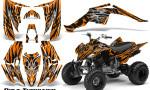 Yamaha Raptor 350 CreatorX Graphics Kit Bolt Thrower Orange 150x90 - Yamaha Raptor 350 Graphics