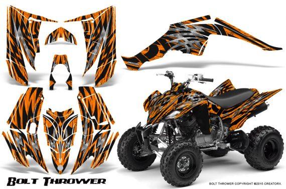 Yamaha Raptor 350 CreatorX Graphics Kit Bolt Thrower Orange 570x376 - Yamaha Raptor 350 Graphics