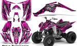 Yamaha Raptor 350 CreatorX Graphics Kit Bolt Thrower Pink 150x90 - Yamaha Raptor 350 Graphics
