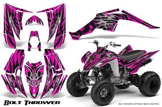 Yamaha Raptor 350 CreatorX Graphics Kit Bolt Thrower Pink 570x376 - Yamaha Raptor 350 Graphics