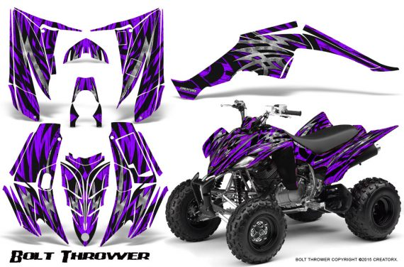 Yamaha Raptor 350 CreatorX Graphics Kit Bolt Thrower Purple 570x376 - Yamaha Raptor 350 Graphics