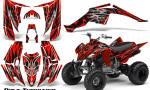 Yamaha Raptor 350 CreatorX Graphics Kit Bolt Thrower Red 150x90 - Yamaha Raptor 350 Graphics