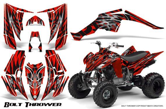 Yamaha Raptor 350 CreatorX Graphics Kit Bolt Thrower Red 570x376 - Yamaha Raptor 350 Graphics