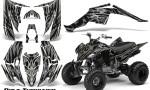 Yamaha Raptor 350 CreatorX Graphics Kit Bolt Thrower Silver 150x90 - Yamaha Raptor 350 Graphics