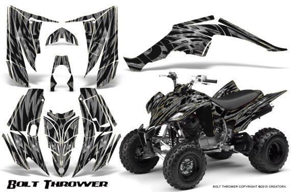 Yamaha Raptor 350 CreatorX Graphics Kit Bolt Thrower Silver 570x376 - Yamaha Raptor 350 Graphics