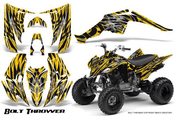 Yamaha Raptor 350 CreatorX Graphics Kit Bolt Thrower Yellow 570x376 - Yamaha Raptor 350 Graphics