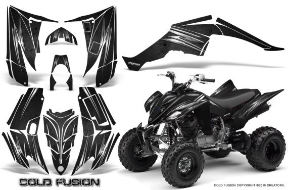 Yamaha Raptor 350 CreatorX Graphics Kit Cold Fusion Black 570x376 - Yamaha Raptor 350 Graphics