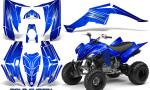 Yamaha Raptor 350 CreatorX Graphics Kit Cold Fusion Blue 150x90 - Yamaha Raptor 350 Graphics