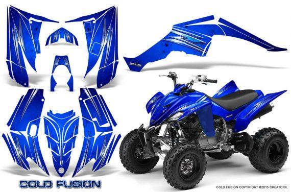 Yamaha Raptor 350 CreatorX Graphics Kit Cold Fusion Blue 570x376 - Yamaha Raptor 350 Graphics
