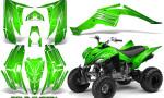 Yamaha Raptor 350 CreatorX Graphics Kit Cold Fusion Green 150x90 - Yamaha Raptor 350 Graphics