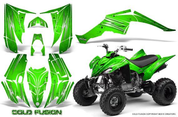 Yamaha Raptor 350 CreatorX Graphics Kit Cold Fusion Green 570x376 - Yamaha Raptor 350 Graphics