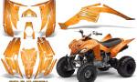 Yamaha Raptor 350 CreatorX Graphics Kit Cold Fusion Orange 150x90 - Yamaha Raptor 350 Graphics