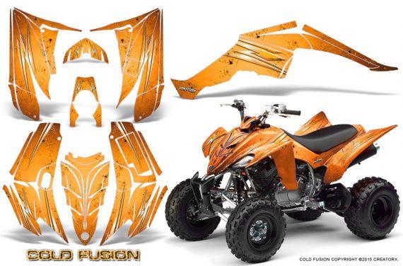 Yamaha Raptor 350 CreatorX Graphics Kit Cold Fusion Orange 570x376 - Yamaha Raptor 350 Graphics