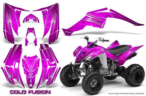 Yamaha Raptor 350 CreatorX Graphics Kit Cold Fusion Pink 570x376 - Yamaha Raptor 350 Graphics