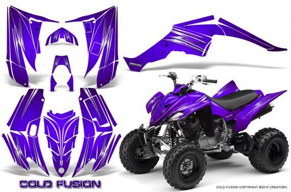 Yamaha Raptor 350 CreatorX Graphics Kit Cold Fusion Purple 570x376 - Yamaha Raptor 350 Graphics