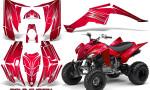 Yamaha Raptor 350 CreatorX Graphics Kit Cold Fusion Red 150x90 - Yamaha Raptor 350 Graphics