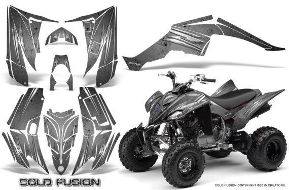 Yamaha Raptor 350 CreatorX Graphics Kit Cold Fusion Silver 570x376 - Yamaha Raptor 350 Graphics