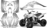 Yamaha Raptor 350 CreatorX Graphics Kit Cold Fusion White 150x90 - Yamaha Raptor 350 Graphics