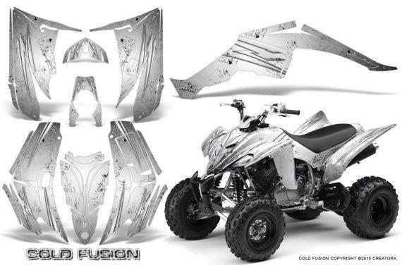 Yamaha Raptor 350 CreatorX Graphics Kit Cold Fusion White 570x376 - Yamaha Raptor 350 Graphics