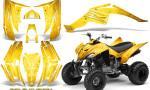 Yamaha Raptor 350 CreatorX Graphics Kit Cold Fusion Yellow 150x90 - Yamaha Raptor 350 Graphics