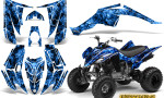 Yamaha Raptor 350 CreatorX Graphics Kit Inferno Blue 150x90 - Yamaha Raptor 350 Graphics