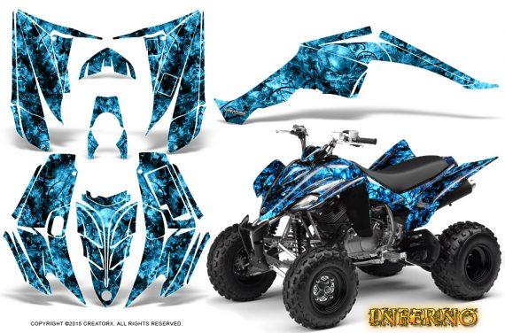 Yamaha Raptor 350 CreatorX Graphics Kit Inferno BlueIce 570x376 - Yamaha Raptor 350 Graphics