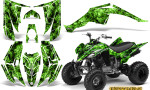 Yamaha Raptor 350 CreatorX Graphics Kit Inferno Green 150x90 - Yamaha Raptor 350 Graphics