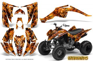 Yamaha Raptor 350 CreatorX Graphics Kit Inferno Orange 320x211 - Can-Am Maverick X3 TribalX Custom Version Graphics
