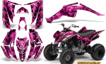 Yamaha Raptor 350 CreatorX Graphics Kit Inferno Pink 150x90 - Yamaha Raptor 350 Graphics