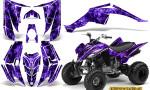 Yamaha Raptor 350 CreatorX Graphics Kit Inferno Purple 150x90 - Yamaha Raptor 350 Graphics