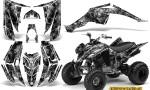 Yamaha Raptor 350 CreatorX Graphics Kit Inferno Silver 150x90 - Yamaha Raptor 350 Graphics