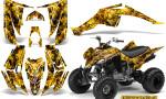 Yamaha Raptor 350 CreatorX Graphics Kit Inferno Yellow 150x90 - Yamaha Raptor 350 Graphics