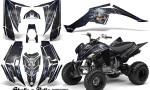 Yamaha Raptor 350 CreatorX Graphics Kit Skulls Bolts Metal Blue Black 150x90 - Yamaha Raptor 350 Graphics