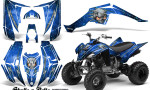 Yamaha Raptor 350 CreatorX Graphics Kit Skulls Bolts Metal BlueIce Blue 150x90 - Yamaha Raptor 350 Graphics