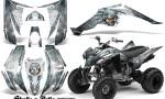 Yamaha Raptor 350 CreatorX Graphics Kit Skulls Bolts Metal BlueIce White 150x90 - Yamaha Raptor 350 Graphics