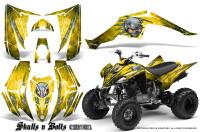 Yamaha-Raptor-350-CreatorX-Graphics-Kit-Skulls-Bolts-Metal-Green-Yellow