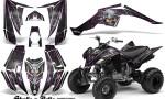 Yamaha Raptor 350 CreatorX Graphics Kit Skulls Bolts Metal Pink Black 150x90 - Yamaha Raptor 350 Graphics