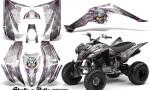Yamaha Raptor 350 CreatorX Graphics Kit Skulls Bolts Metal Pink White 150x90 - Yamaha Raptor 350 Graphics