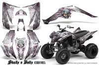 Yamaha-Raptor-350-CreatorX-Graphics-Kit-Skulls-Bolts-Metal-Pink-White