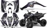 Yamaha Raptor 350 CreatorX Graphics Kit Skulls Bolts Metal Purple Black 150x90 - Yamaha Raptor 350 Graphics