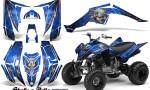 Yamaha Raptor 350 CreatorX Graphics Kit Skulls Bolts Metal Red Blue 150x90 - Yamaha Raptor 350 Graphics