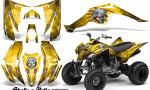 Yamaha Raptor 350 CreatorX Graphics Kit Skulls Bolts Metal Red Yellow 150x90 - Yamaha Raptor 350 Graphics