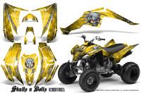 Yamaha-Raptor-350-CreatorX-Graphics-Kit-Skulls-Bolts-Metal-White-Yellow