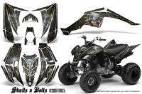Yamaha-Raptor-350-CreatorX-Graphics-Kit-Skulls-Bolts-Metal-Yellow-Black