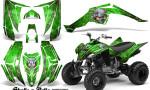 Yamaha Raptor 350 CreatorX Graphics Kit Skulls Bolts Metal Yellow Green 150x90 - Yamaha Raptor 350 Graphics